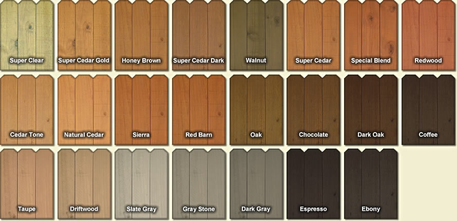 Captivating Fence And Deck Stain Colors Part 10